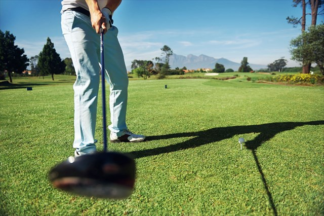 ゴルフのバックスイング