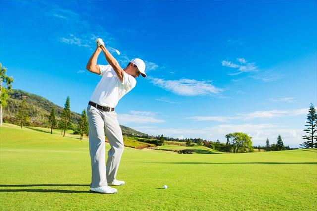 ゴルフのトップスイング