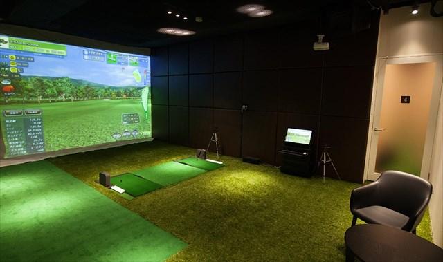 ライザップ ゴルフは広くて快適なレッスン環境を完備