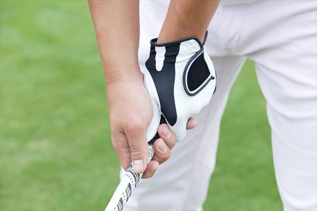 ゴルフグリップの握り方