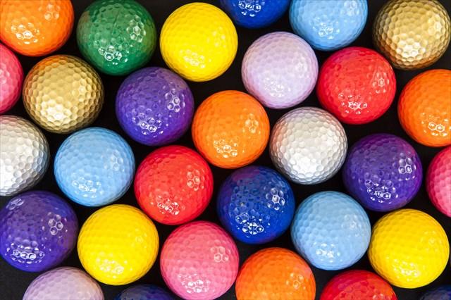 ゴルフ初心者のゴルフボール選び