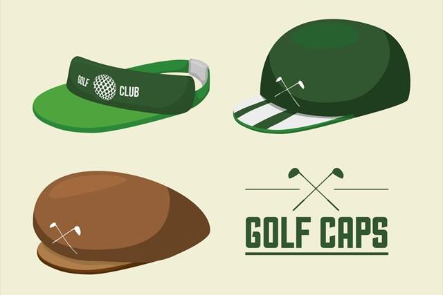 ゴルフキャップの特徴