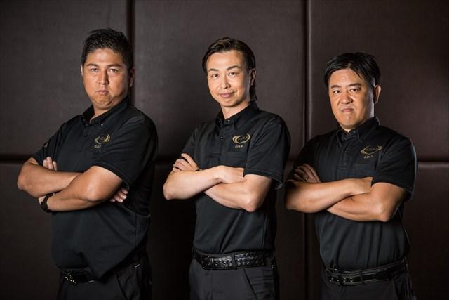 ライザップ ゴルフ六本木店のコーチたち