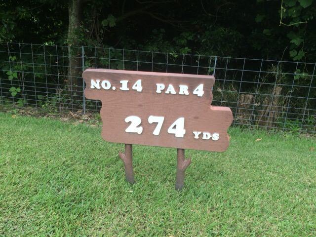 NO.14 PAR4 274YDS