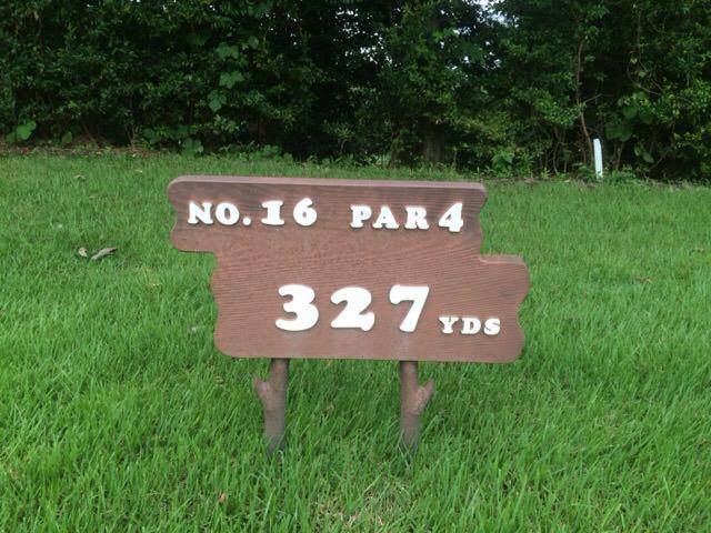 NO.16 PAR4 327YDS