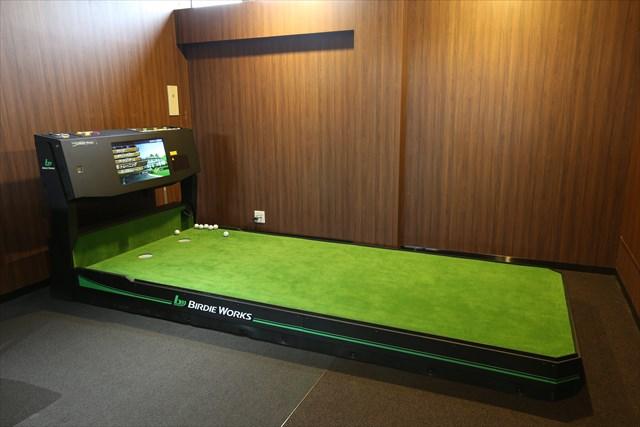 ライザップゴルフ各店舗に設置されているバーディーワークス