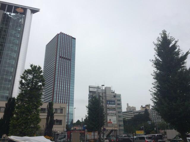 8/30の天気は台風の影響もあって小雨