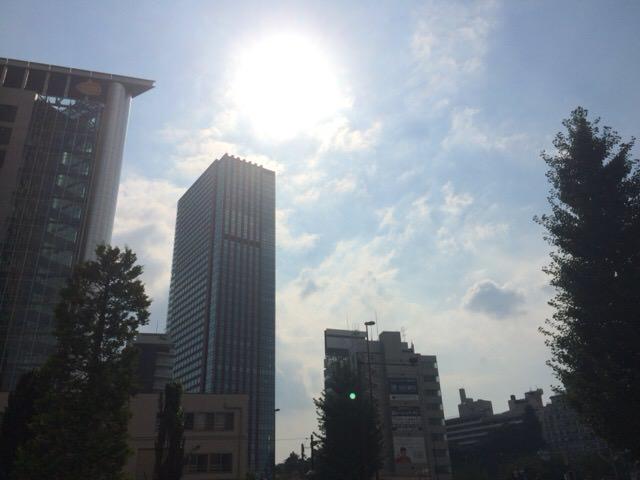 9月2日の天気は晴れ