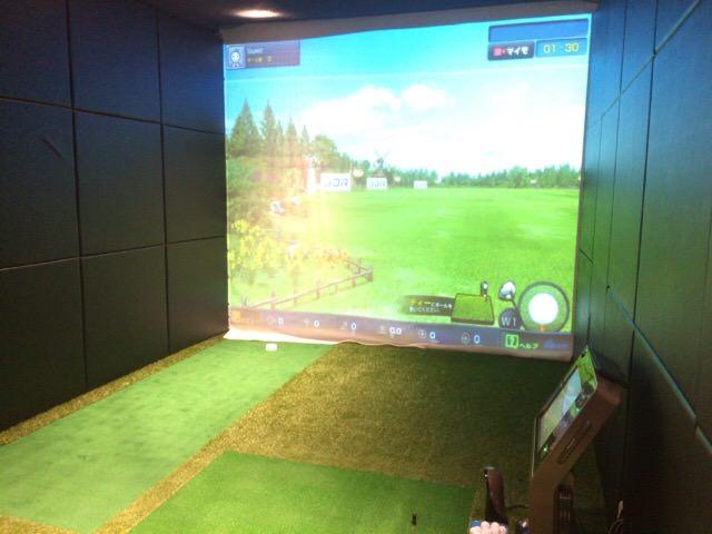 初めて使ったライザップゴルフ三田店の2番ブース