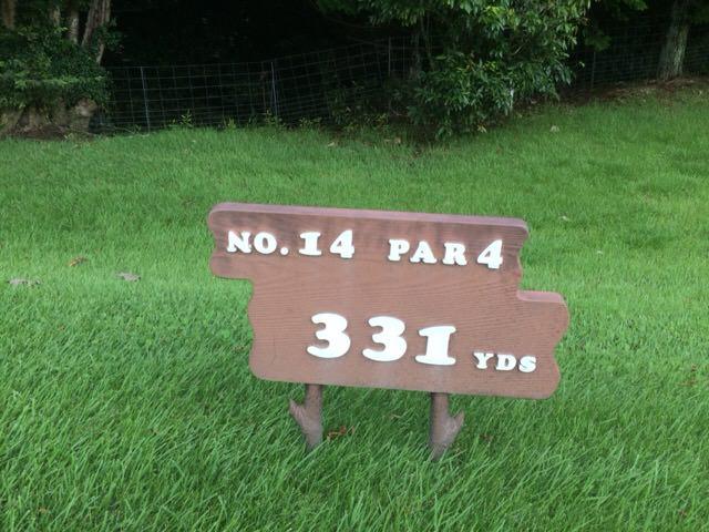 NO.14 PAR4 331YDS