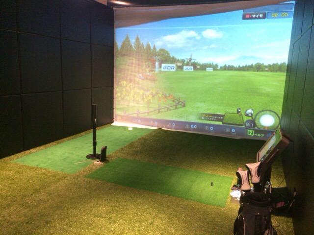 第13回目のライザップゴルフのレッスンは7番ブースで実施