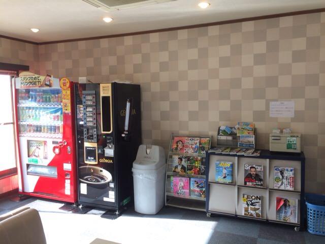 飲み物の自動販売機