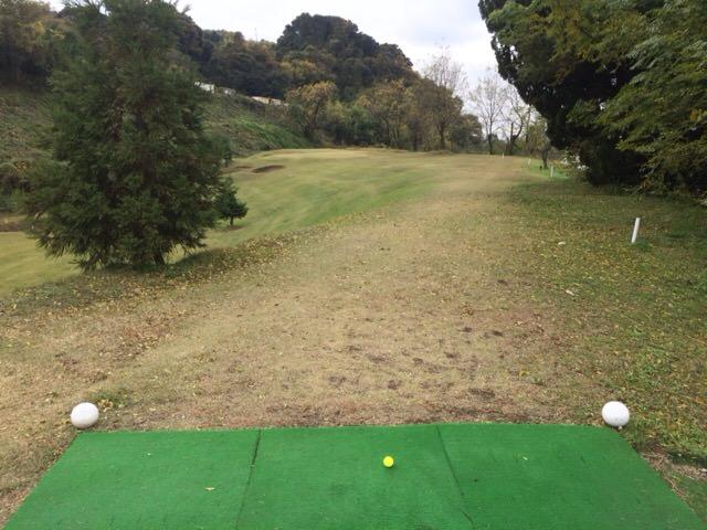 竜泉寺ゴルフの最長ホールです!