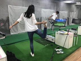 ゴルフウォーミングアップ